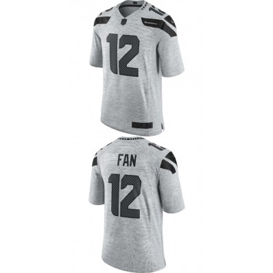 black and grey seahawks jersey